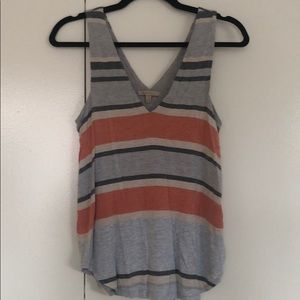 Anthropologie striped tank top in size S